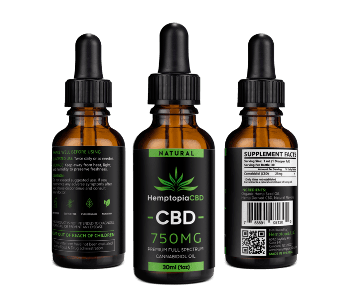 Full Spectrum CBD Oil by Hemptopia - ADS Lifestyle