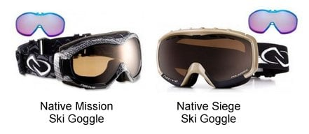 Prescription Native Ski Goggles