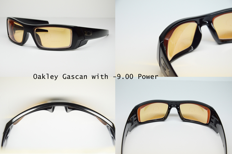Oakley Gascan with lenticular prescription lenses