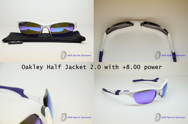 Oakley Half Jacket 2.0 with lenticular prescription lenses