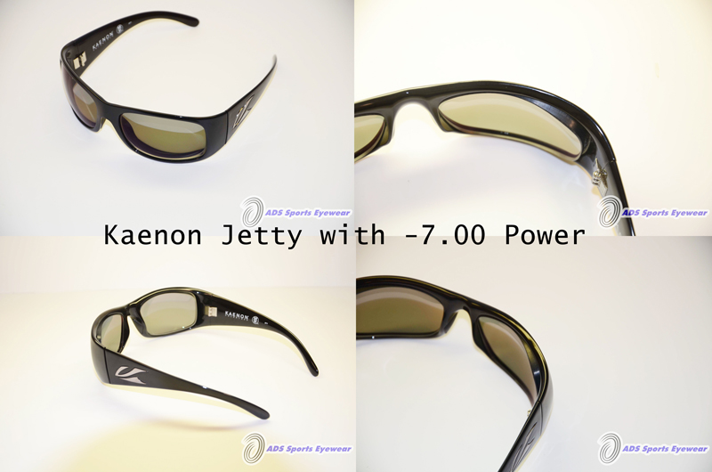 Kaenon Jetty Sunglasses with lenticular prescription lenses