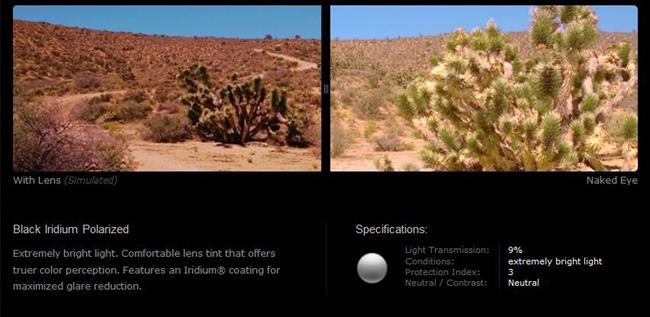 92c13246b85 Oakley Edge Polarized Black Iridium Prescription Lens
