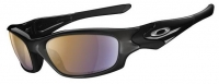 Oakley Straight Jacket Sunglasses with Shallow Blue Iridium Lenses