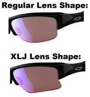 difference between oakley half jacket and flak jacket s1nq  oakley half jacket xl vs xlj