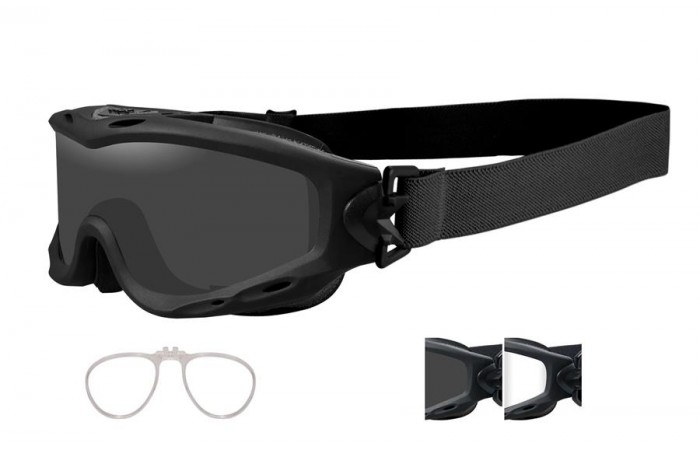 Wiley X  Spear Goggles with Insert {(Prescription Available)}