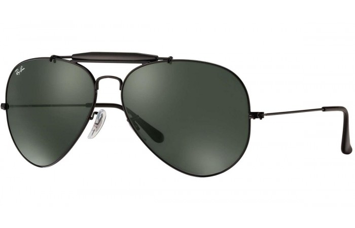 Ray Ban  RB3025 Aviator Large Metal Sunglasses {(Prescription Available)}