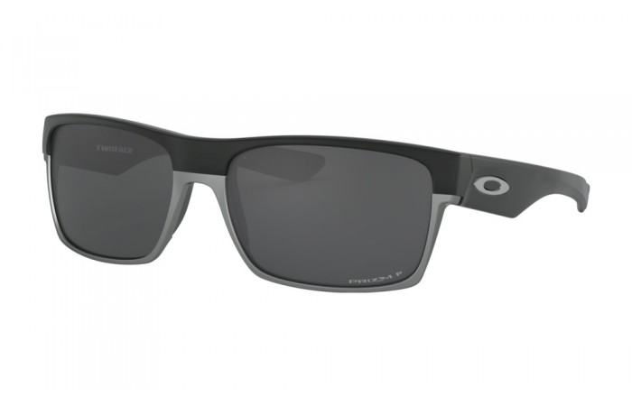 Oakley-TwoFace-Matte-Black-PRIZM-Black-Polarized-Prescription