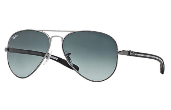 31f5c30546d Ray Ban RB8307 Aviator Tech Carbon Fibre Sunglasses (Prescription Available)