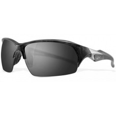 Greg Norman  G4202 Follow-Through Sunglasses  Black and White