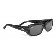 Serengeti  Bianca Sunglasses  Black and White