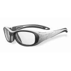 Bolle  Crunch Youth Sports Glasses  Black and White