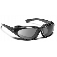 Panoptx 7Eye Bora Sunglasses  Black and White