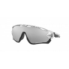 Oakley Jawbreaker Sunglasses  Black and White