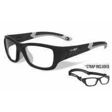 Wiley X  Flash Sports Glasses/Goggles  Black and White