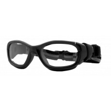 Rec Specs Slam Sports Goggles  Black and White