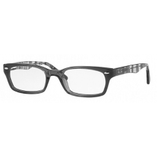 Ray Ban  RB5150 Eyeglasses Black and White