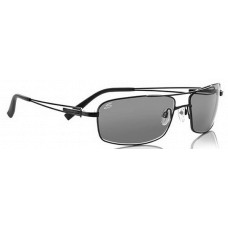 Serengeti  Dante Sunglasses  Black and White