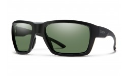 Smith-Highwater-Matte-Black-Polarized-Chromapop-Gray-Green-Prescription