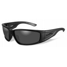 Wiley X  Zak Sunglasses  Black and White