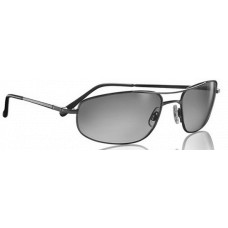 Serengeti  Velocity Sunglasses  Black and White