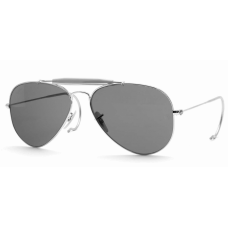 Ray Ban  RB3030 Outdoorsman Sunglasses  Black and White