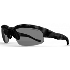 Switch Vision  Avalanche Slide Sunglasses  Black and White