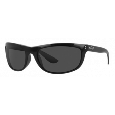 Ray Ban  RB4089 Balorama Sunglasses  Black and White