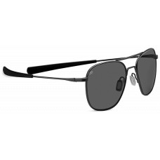 Serengeti  Sortie Sunglasses  Black and White