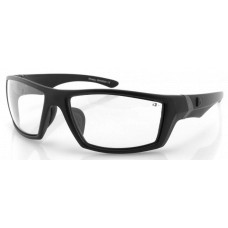 Bobster  Whiskey Sunglasses  Black and White