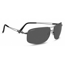 Serengeti Sassari Flex Sunglasses  Black and White