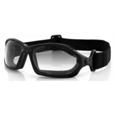 Bobster DZL Goggles  Black and White