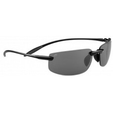 Serengeti  Lipari Sunglasses  Black and White
