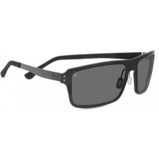 Serengeti  Duccio Sunglasses  Black and White