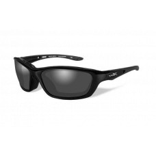 Wiley X  Brick Sunglasses  Black and White