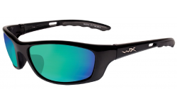 Wiley-X-P-17-Gloss-Black-Polarized-Emerald-Mirror-Prescription