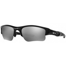 Oakley  Flak Jacket XLJ Sunglasses  Black and White