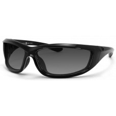 Bobster  Charger Sunglasses  Black and White