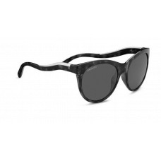 Serengeti Valentina Sunglasses  Black and White