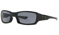 Oakley-Fives-Squared-Polished-Black-Gray-Prescription