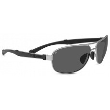 Serengeti  Norcia Sunglasses  Black and White