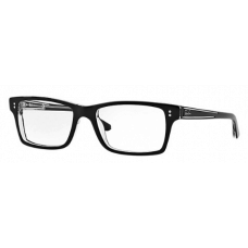Ray Ban  RB5225 Eyeglasses Black and White