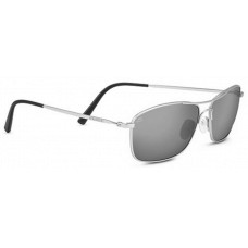 Serengeti Corleone Sunglasses  Black and White