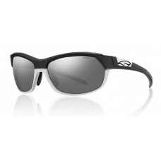 Smith  Pivlock Overdrive Sunglasses  Black and White