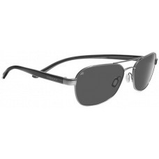 Serengeti  Volterra Sunglasses  Black and White
