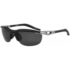 Switch Vision  Headwall Wrap Sunglasses  Black and White