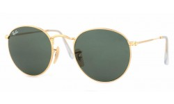 Ray Ban 3447 Round Metal Sunglasses {(Prescription Available)}