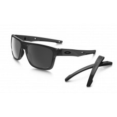 Oakley Crossrange (Asian Fit) Sunglasses  Black and White