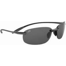 Serengeti  Nuvino Sunglasses  Black and White