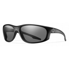 Smith  Chamber Elite Tactical Sunglasses  Black and White