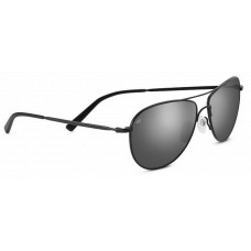 Serengeti Alghero Sunglasses  Black and White